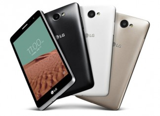 LG Bello II dizajn