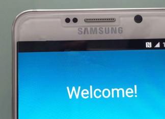 Galaxy Note 5 Naslovna