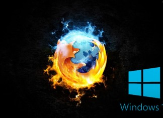 Windows 10 Firefox web preglednik