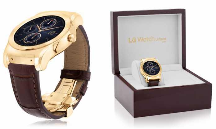 LG Watch Urbane Luxe premium pametni sat