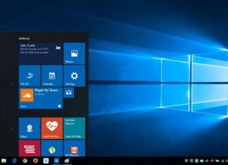Windows 10 izbornik i sučelje