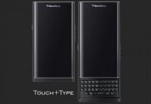 BlackBerry Priv dizajn