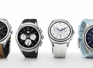 Dizajn sata LG Watch Urbane 2nd Edition