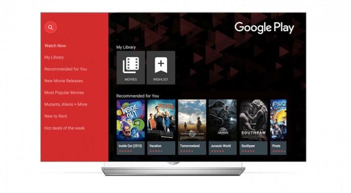Google Play Movies & TV na LG pametnom televizoru