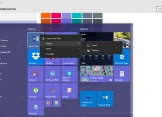 Start izbornik Windows 10 Threshold 2