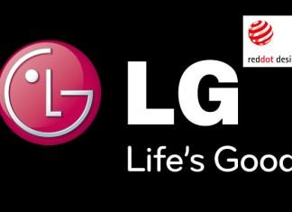 LG Logo i red dot award logo