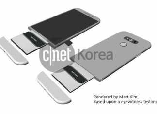 LG G5 slide out baterija