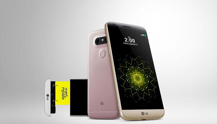 LG G5 dizajn