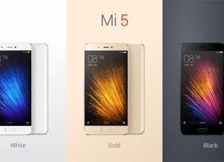 Xiaomi Mi5 boje uređaja