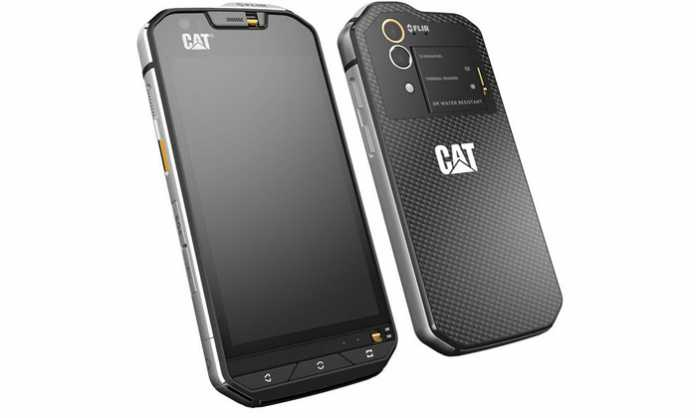Cat S60 Prednji dio uređaja