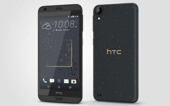 HTC Desire 530 prednja i stražnja strana uređaja