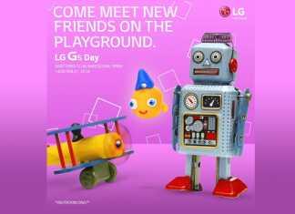 LG G5 pozivnica 21. veljače 2016