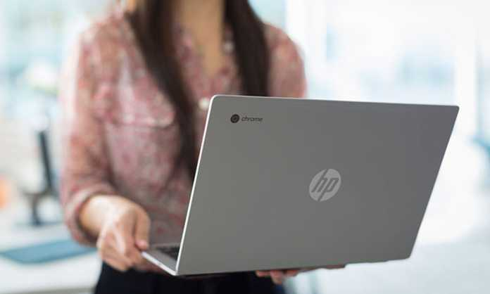 HP Chromebook 13 stražnji dio laptopa