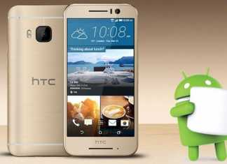 HTC One S9 s znakom Androida