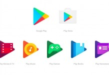 Nove Google Play ikone