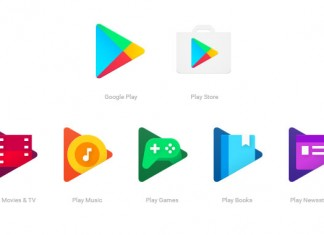 Nove Google Play ikone