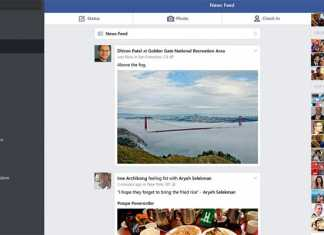 Windows 10 Facebook aplikacija