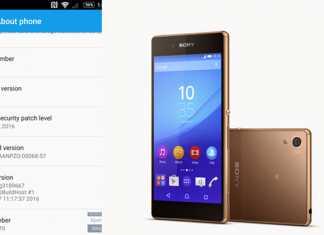 Sony Xperia Z3 Android 6.0 nadogradnja