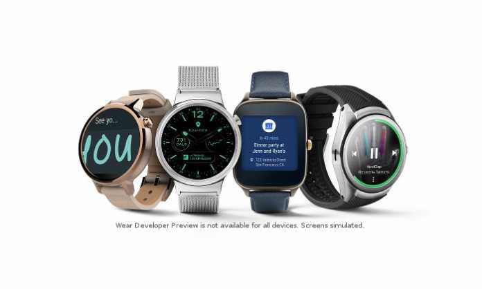 Android Wear 2.0 pametni satovi