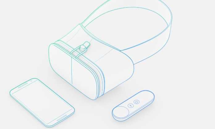 Google Daydream VR koncept