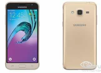Samsung Galaxy J3 Dizajn