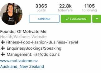 Instagram poslovni profil sučelje
