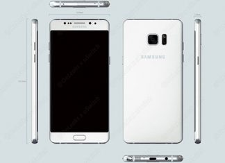 Samsung Galaxy Note renderi