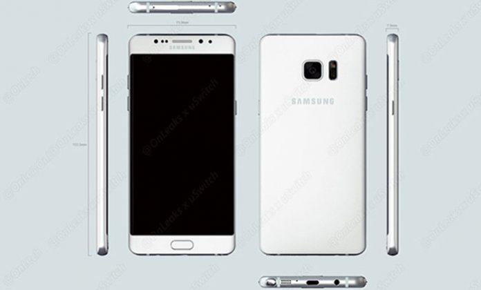 Samsung Galaxy Note renderi