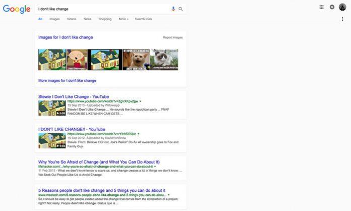 Google novi izgled