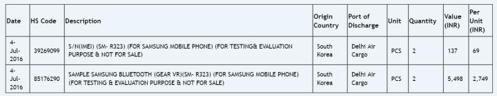 Samsung Galaxy VR R323