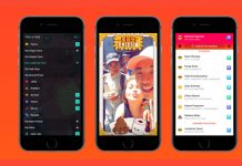 Lifestage sučelje iOS
