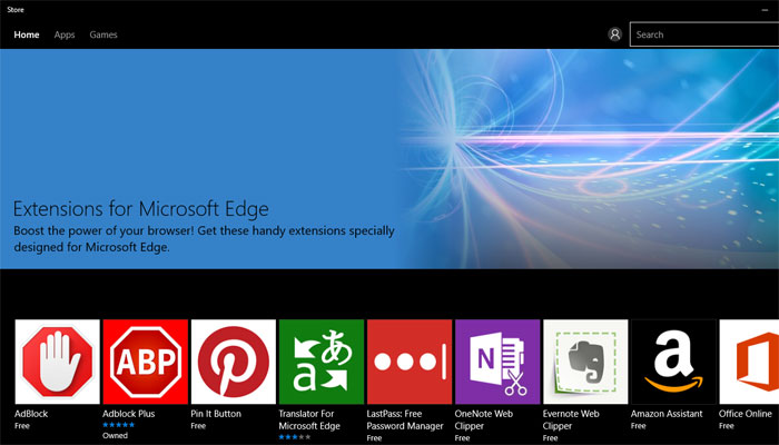Microsoft edge ekstenzije