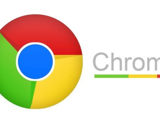 Novi Google Chrome logo
