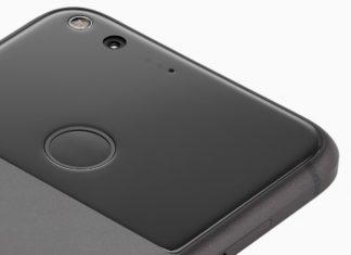 Google Pixel stražnja strana
