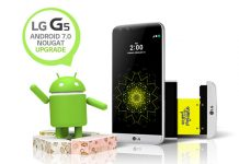 Android 7.0 Nougat za LG G5