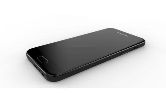 Samsung Galaxy A7 2017 render