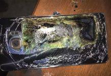 Zapaljeni Galaxy Note 7