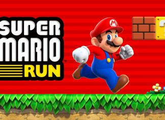 Super Mario Run snimka zaslona