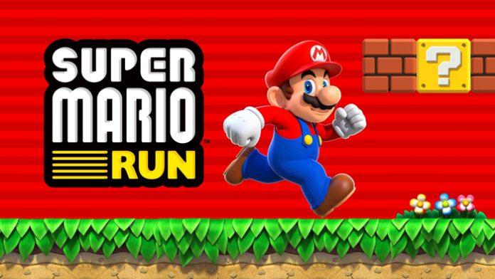 Super Mario Run snimka zaslona