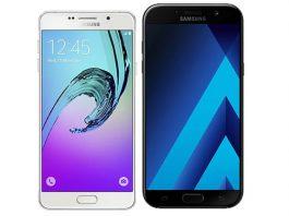 Usporedba Galaxy A7 2016 i Galaxy A7 2017