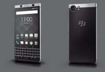 BlackBerry KeyOne dizajn