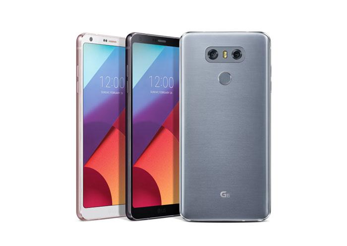 LG G6 prednja strana uređaja