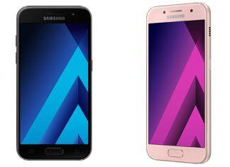 Samsung Galaxy A3 2017 prednja strana uređaja