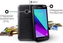 Kamere na Samsung Galaxy Xcover 4