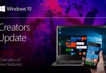 Creators update za Windows 10