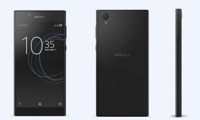 Sony Xperia L1 dizajn