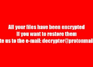 BTCWare ransomware poruka za radnoj površini