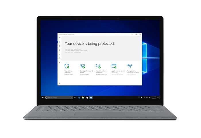 Windows 10 Sigurnost