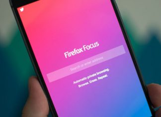 Firefox Focus na Android telefonu