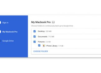 Google backup i sync za mac